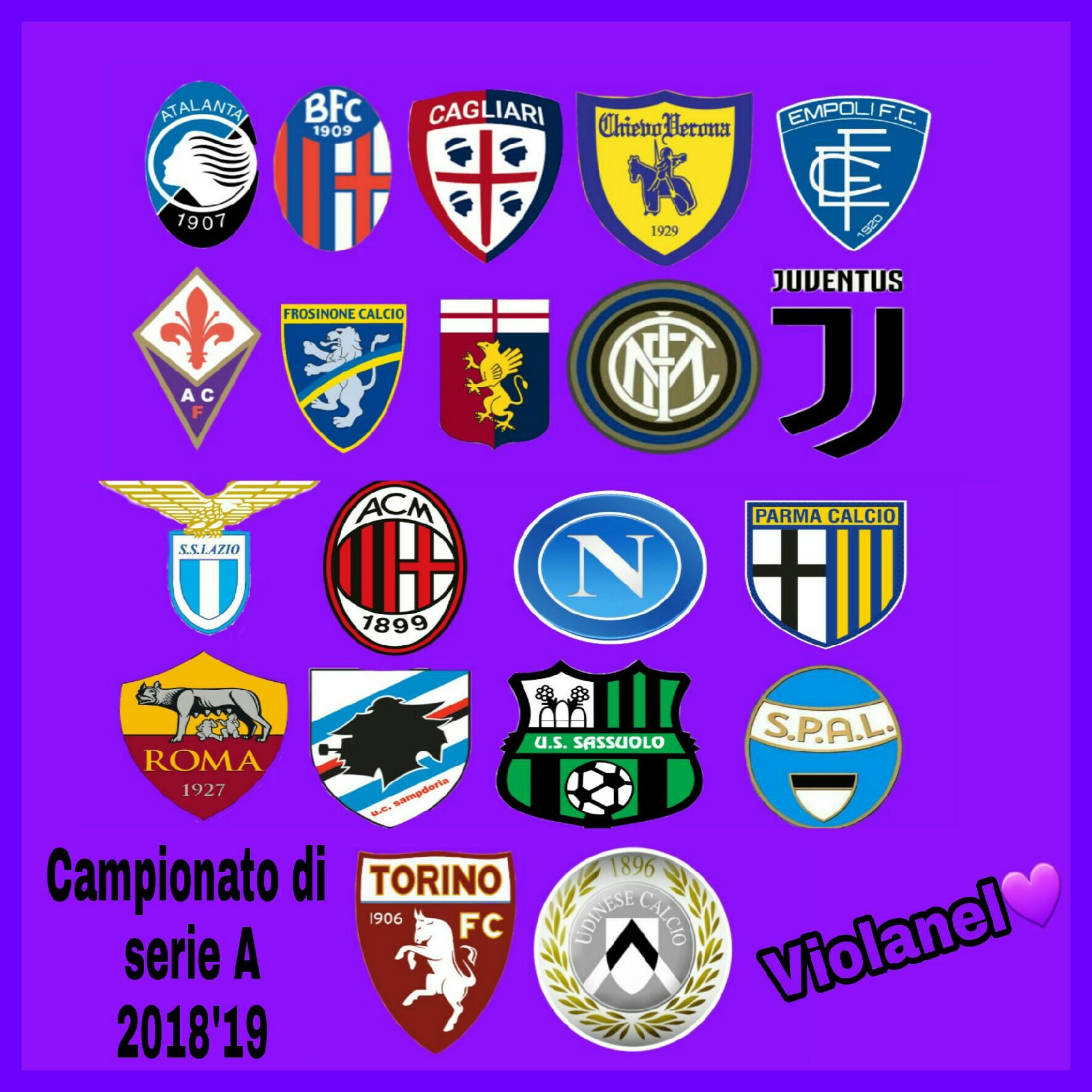 Risultati E Classifica Della 6 Giornata Di Campionato Di Serie A 2018 19 Snt71violanelcuore